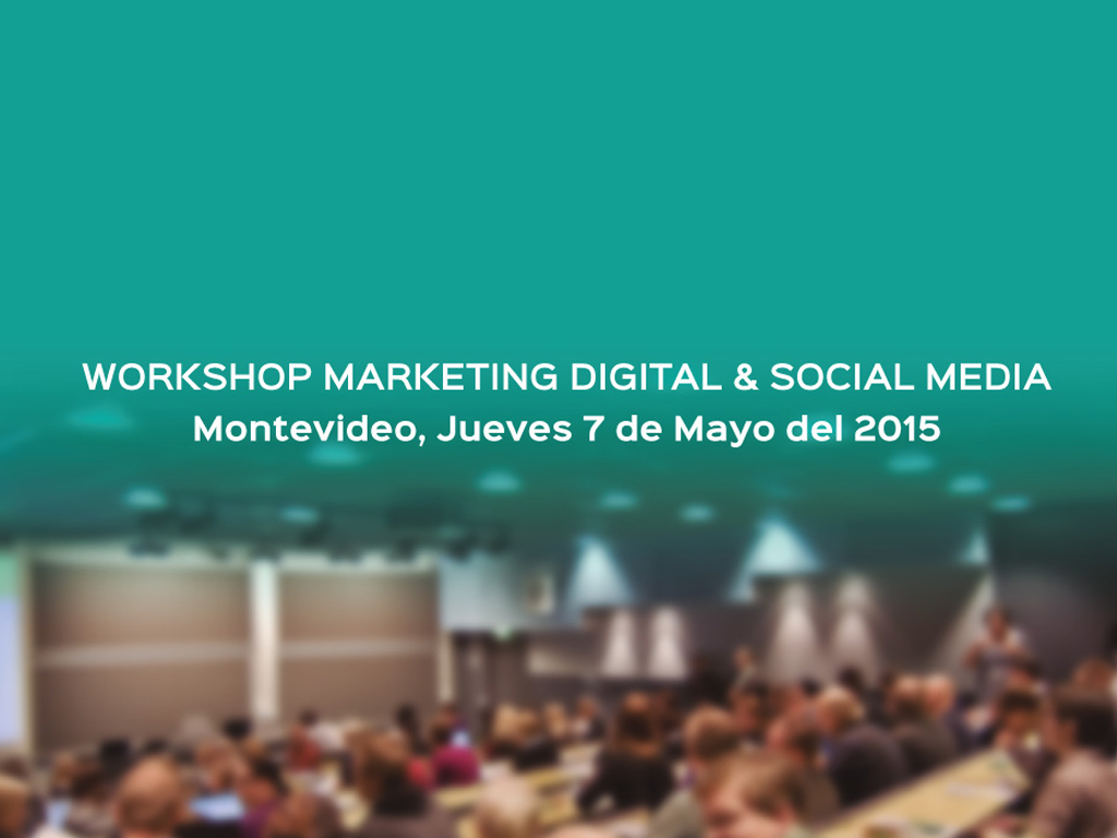 Marketing Meeting: Workshop sobre Marketing Digital & Social Media