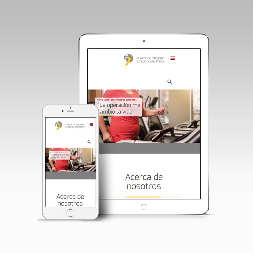 Clínica de Obesidad, Cirugía Bariátrica y Metabólica - Web - Tiberia