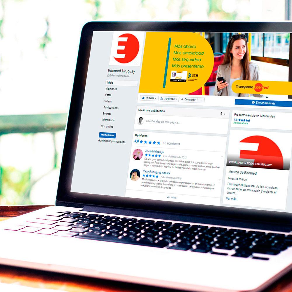Edenred Uruguay - Social Media - Tiberia
