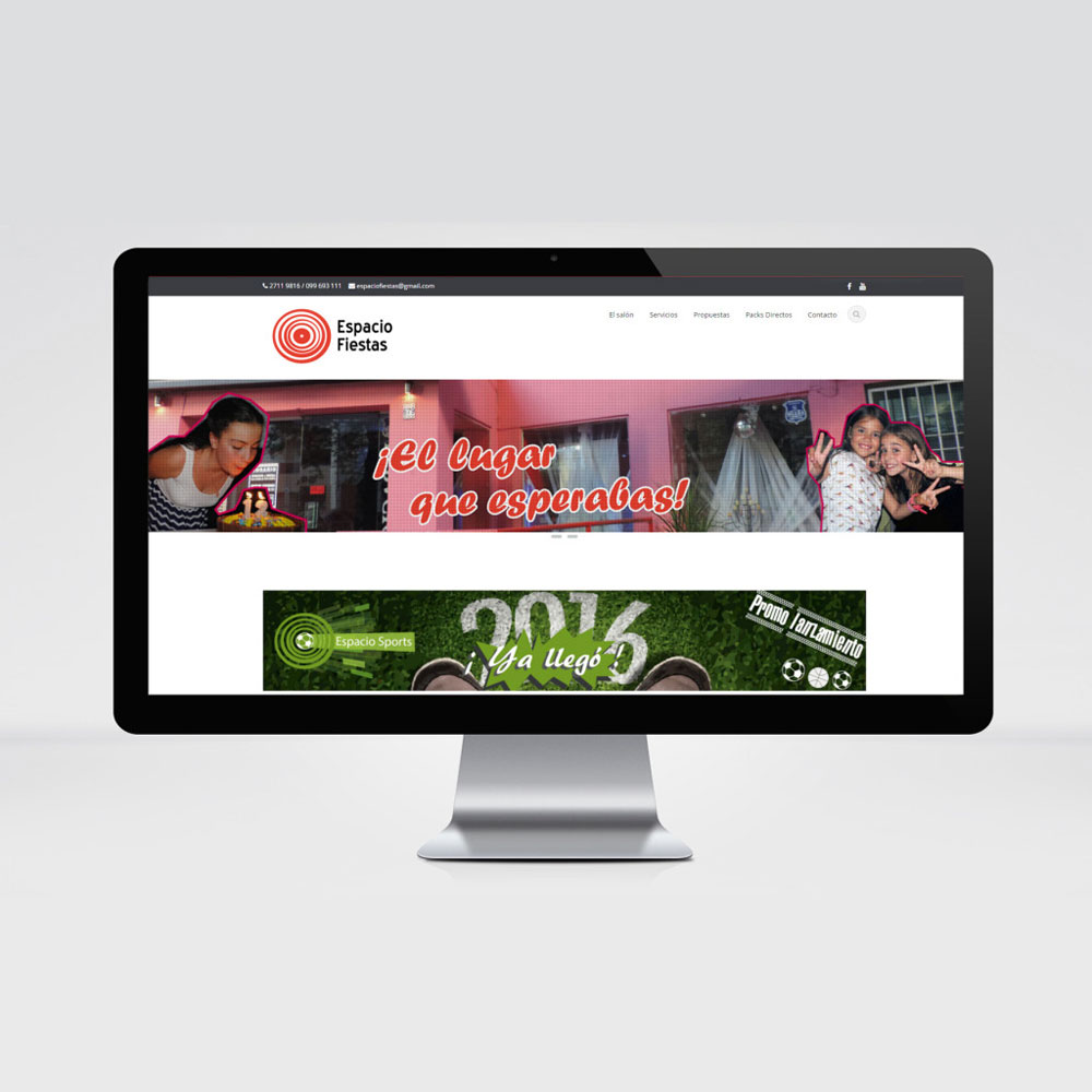 Espacio Fiestas - Web - Tiberia