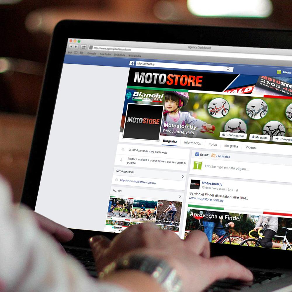 Motostore - Social Media - Tiberia