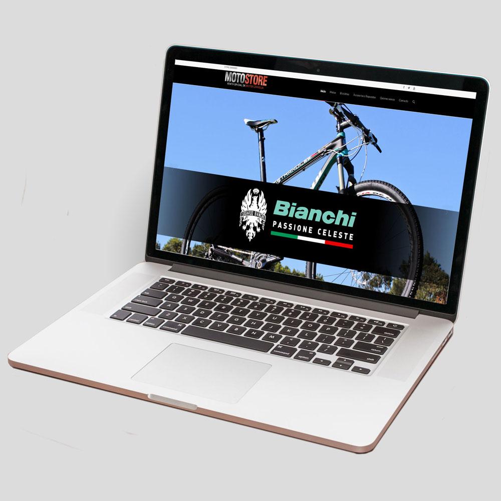 Motostore - Web - Tiberia