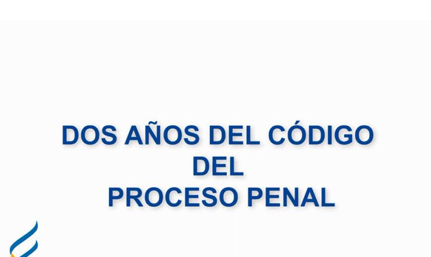 Se cumplieron dos años de la puesta en marcha del proceso penal acusatorio en Uruguay.